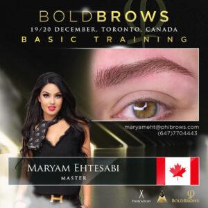 Boldbrows training december