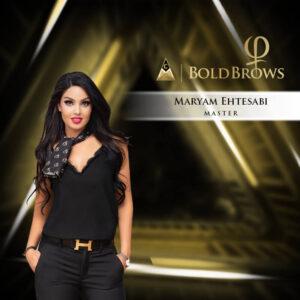 Maryam Ehtesabi BoldBrows Master