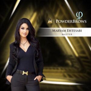 Maryam Ehtesabi PowderBrows Master